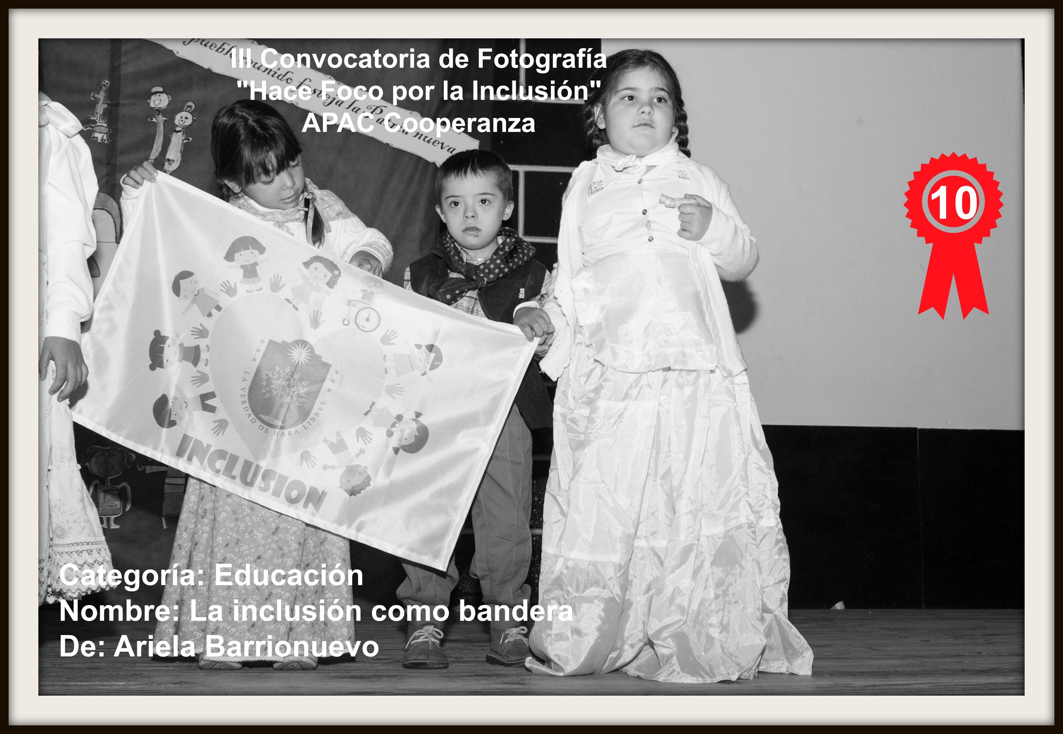 PUESTO 10: La Inclusión como Bandera de Ariela Barrionuevo